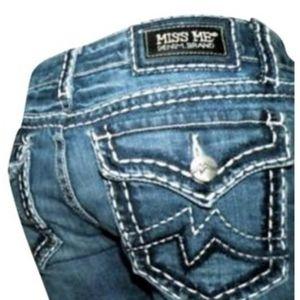 Miss me irene capri jeans 27